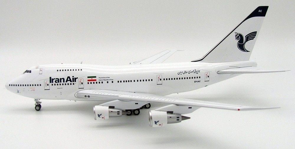 Inflight 200 IF747SP001-2 1/200 Iran Aria Boeing 747sp Ep-Iac con Supporto