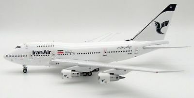 INFLIGHT 200 IF747SP001-2 1//200 IRAN AIR BOEING 747SP EP-IAC WITH STAND