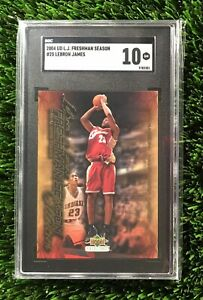 2004 Upper Deck Freshman Season LeBron James #25 SGC 10 GEM MINT (comp PSA 10?)