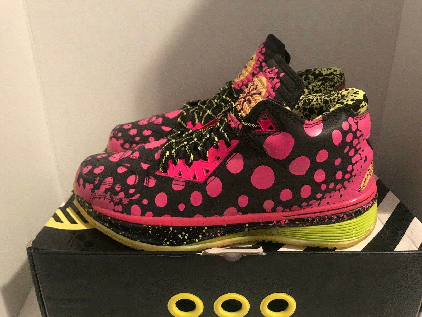 Li-Ning Way of Wade WOW 2 All-Star Nola Gumbo Men's Size 11 12 DS Pink RARE