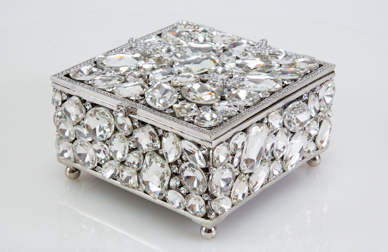 Olivia Riegel Roxy Swarovski crystals Jewelry Treasure Box