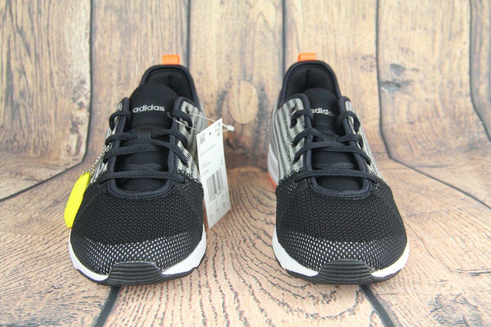 Adidas Arianna Cloudfoam Womens Training Shoes Black/Grey-Orange CG2844 SZ