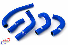 KAWASAKI ZZR 600 D 1990-1992 HIGH PERFORMANCE SILICONE RADIATOR HOSES BLUE