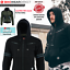 miniature 95 - Motorbike Motorcycle Jacket Hoodie Lined Aramid Protection With CE Biker Armour