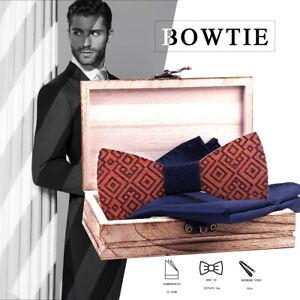 Fliege-Schleife-Bowtie-Boutonniere-Krawatten-Kavalierstuch-Hemd-Anzug-Geschenk