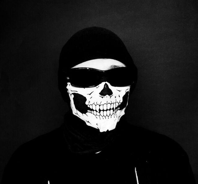 Bandana Totenkopf Biker Schädel Maske Sturmhaube Army Motorrad Karneval Skull