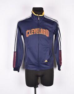 M Cleveland Maglione Top Taglia Donna Track Adidas Nba Cavaliers 8wq55I