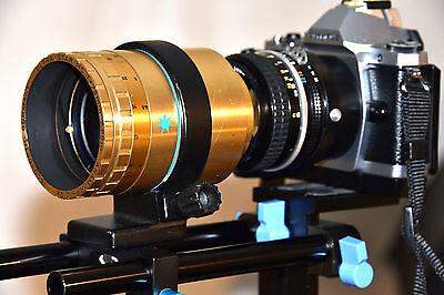 Isco Ultra Star MC Anamorphic 2x Cinemascope Lens MFT APSC Full Frame TESTD 9212