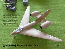 Focke Wulf Ta 283 III. Entwurf   1/72 Bird Models Resinbausatz / resin kit