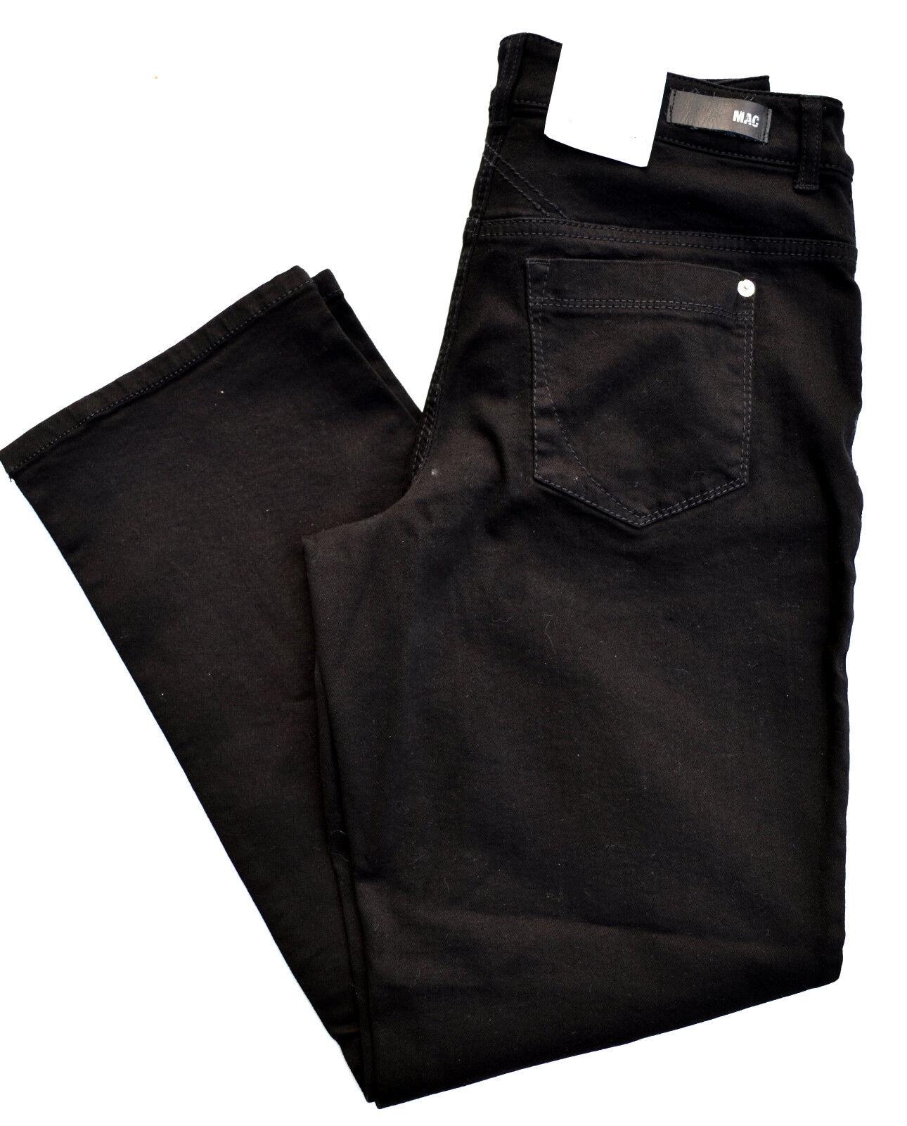 MAC Jeans GRACIA Denim Stretch schwarz schwarz  comfort loose fit Gr.38 L30 NEU