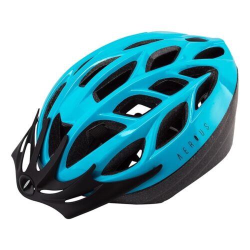 """52 To 58Cm 2 Sm//Md 20-1//2/"""" To 22-3//4/"""" - Light Blue Aerius Sparrow Helmets"""
