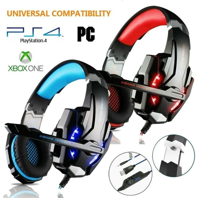 Kotion Each Q2 Wireless Gaming Headset Bluetooth For Smartphone Ps4 Led Mic Aux For Sale Online Ebay