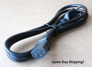 New 6 Ft. Power Cooker PC-WAL1 A/C Power Cord Cable Plug