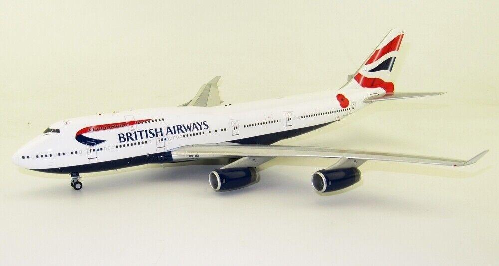 Fliegender 200 WB744POP1218 1 200 British Airways Boeing 747-400 G-Civj mit