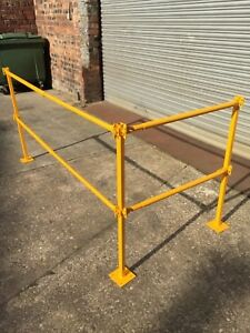 Image Is Loading Stair Safety System Temporary Handrail Telescopic Edge  Protection