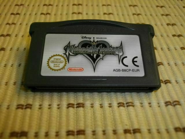 Kingdom Hearts Chain of Memories für GameBoy Advance SP