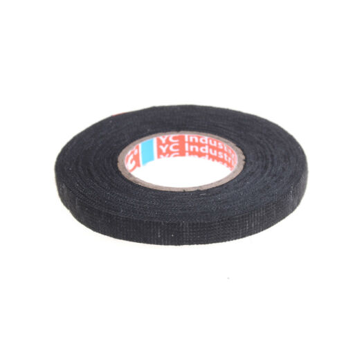 Heat-resistant 9mmx15m Adhesive Fabric Cloth Tape Car Cable Harness Wiring GNBB