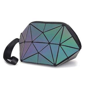 2020-Hot-Holographic-Geometric-Luminous-Purses-Foldable-Makeup-Bag-Luminous