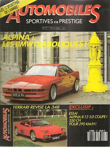 AUTOMOBILES SPORTIVES ET DE PRESTIGE 27 FERRARI 348 TB ALPINA B12 5.0 MUSTANG