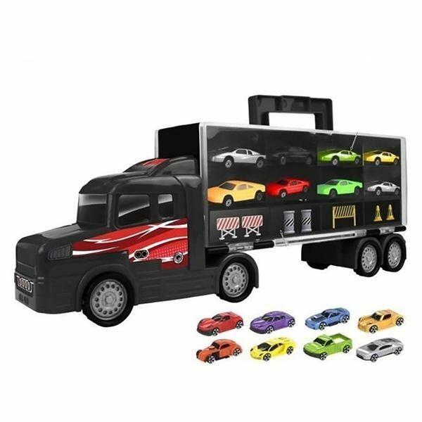 mejor precio Camion de transporteur de voiture Valise Teamsterz Teamsterz Teamsterz Avec 8 Voitures  precios bajos