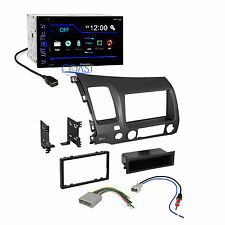 Pioneer Car Radio Stereo Double Din Dash Kit Harness for 2006-2011 Honda Civic