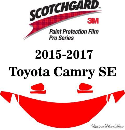 3M Scotchgard Paint Protection Film Pro Series 2015 2016 2017 Toyota Camry SE