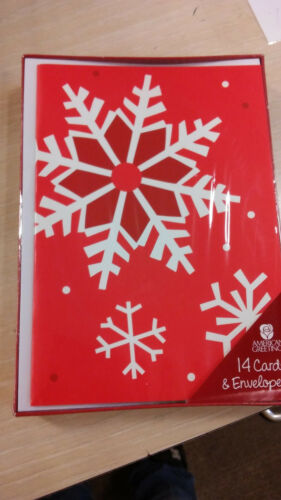 70 Count Cards /& Envelopes American Greetings Christmas Cards