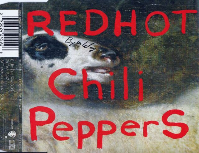 RED HOT CHILI PEPPERS : BY THE WAY / CD - TOP-ZUSTAND