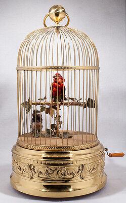Automaton Bird Cage Lot 18