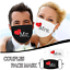 Indexbild 1 - Mundmaske- Nasenmaske- Behelfsmaske- Mr. & Mrs. Hochzeits-Mund Nasenmaske