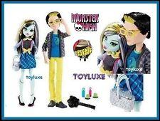 Monster High PICNIC CASKET 2 Doll JACKSON JEKYLL & Frankie Stein Exclusive Set !