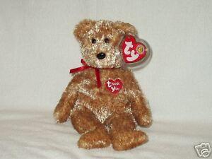 Ty Beanie Babies Thank You Bear BBOM 4/2004 MWMT