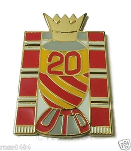 United-Badge-Selection-20-Times-Champions-of-Manchester-amp-England-Winners-Pin