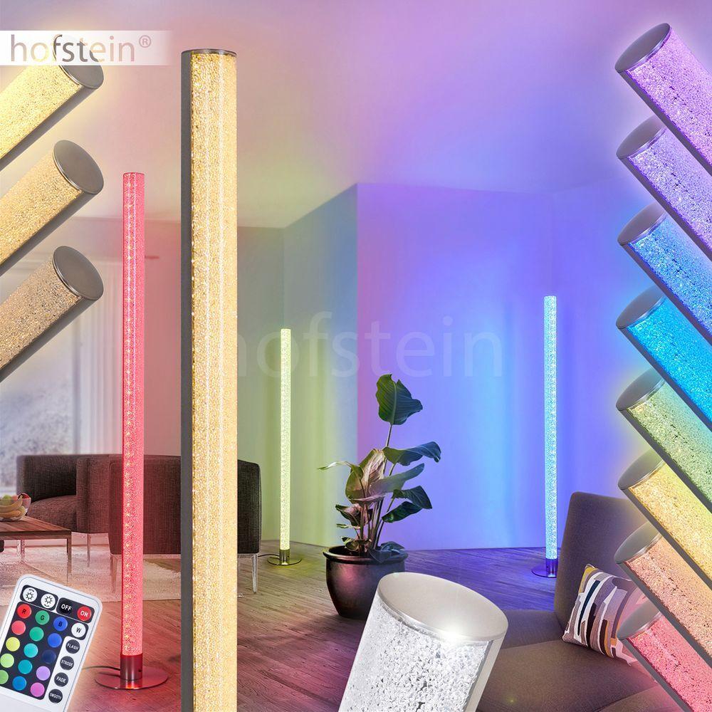 LED Stand Boden Boden Boden Steh Lampen Farbwechsler Wohn Schlaf Raum Leuchten Fernbedienung 378e26