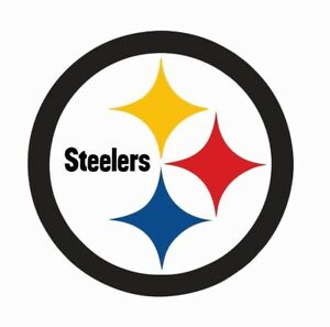 Pittsburgh Steelers Nfl Football Color Logo Sports Decal