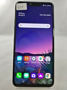 """LG G8 ThinQ LM-G820 128GB AT&T Wireless ONLY 6.1"""" Smart Cellphone Black X798"""