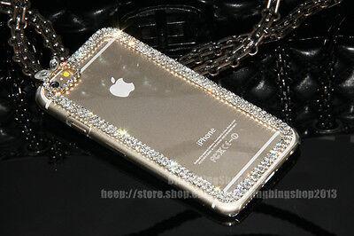 "Super Bling Swarovski Element Crystal Diamond Case Cover For  iPhone 6 Plus 5.5"""