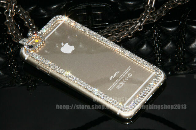 Super Bling Swarovski Element Crystal Diamond Case Back Cover For  iPhone 6 4.7""