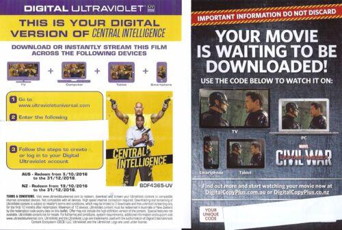 1 of 1 - DIGITAL Ultraviolet UV & Digital Copy Plus Films From $3.50 (ANY 7 FOR $24.50)