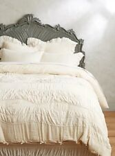 Toulouse Duvet Cover King Anthropologie Ruched Bedding