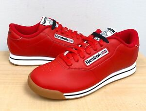 Image is loading WOMENS-REEBOK-CLASSIC-PRINCESS-DV5097-Techy-Red-White- 9546cfa1e