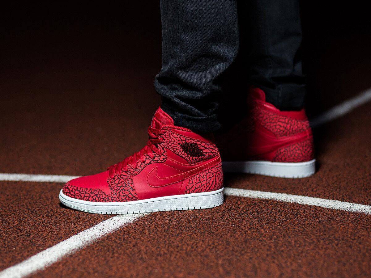 Nike Air Jordan Retro I 1 High  Unsupreme  Gym Red Elephant 839115-600 Cement 15