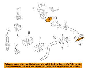 jaguar oem 98 99 xj8 egr valve gasket nca4771da ebay rh ebay com Jaguar 4 2 Supercharged Engine Diagram 1998 Jaguar XJ8 Engine Belt Diagram