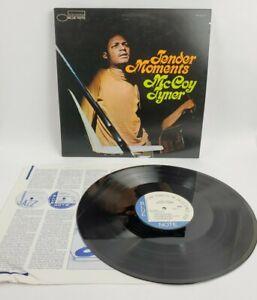 McCOY TYNER TENDER MOMENTS BLUE NOTE BST 84275 OBI STEREO US RVG VINYL LP TESTED