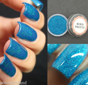 Holographic-Holo-Laser-Powder-Nail-Art-Glitter-Dust-Decoration-Blue-3