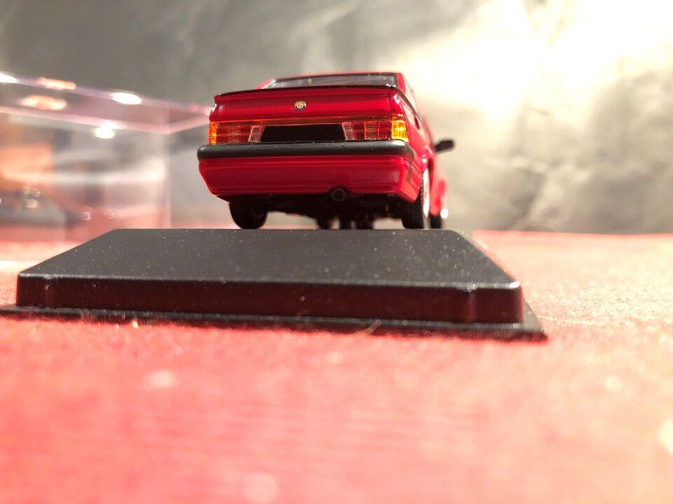 Modelbil, Alfa Romeo 75 V6 3.0 America 1987, skala 1:43