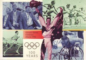 Australia-Post-Design-Set-MNH-Decimal-1996-Olympics-100-Years