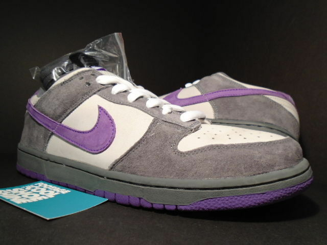 2006 Nike Dunk Low Pro SB PURPLE PIGEON GREY VIOLET GRAPHITE BLACK 304292-051 9
