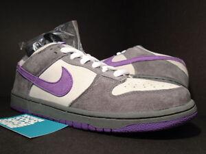 Image is loading 2006-Nike-Dunk-Low-Pro-SB-PURPLE-PIGEON-
