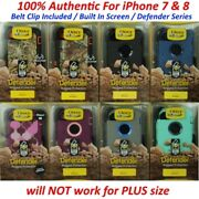 New Authentic OtterBox Defender Case Cover Holster Clip For iPhone 7 / iPhone 8